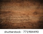 old grunge dark textured wooden ... | Shutterstock . vector #771984490