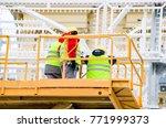 installation of new year's...   Shutterstock . vector #771999373