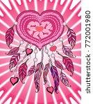 feminine pink apparel print....   Shutterstock . vector #772001980