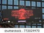 new york city  usa   november 7 ...   Shutterstock . vector #772029970