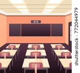 modern flat illustration.... | Shutterstock .eps vector #772044979