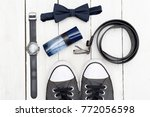 men's fashion accessories | Shutterstock . vector #772056598