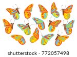 find a second wing for a...   Shutterstock .eps vector #772057498