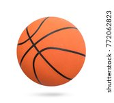 Basketball Ball Isolated On...