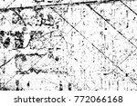 grunge black and white pattern. ... | Shutterstock . vector #772066168