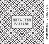 vector seamless pattern and... | Shutterstock .eps vector #772074178