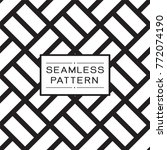 vector seamless pattern and... | Shutterstock .eps vector #772074190