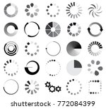 loading sign icon set for... | Shutterstock .eps vector #772084399