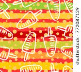seamless pattern with ice cream | Shutterstock .eps vector #772087129