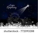 epiphany  epiphany is a... | Shutterstock .eps vector #772093288