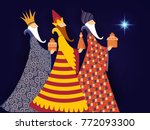epiphany  epiphany is a... | Shutterstock .eps vector #772093300