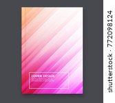 abstract flyer design...   Shutterstock .eps vector #772098124