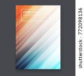 abstract flyer design... | Shutterstock .eps vector #772098136