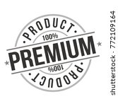 premium product approved... | Shutterstock .eps vector #772109164