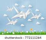 illustration vector of white... | Shutterstock .eps vector #772111264