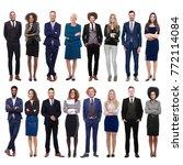 group of people | Shutterstock . vector #772114084