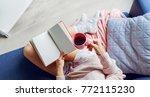 overhead view of   beautiful ... | Shutterstock . vector #772115230
