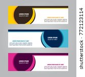 vector modern background banner ... | Shutterstock .eps vector #772123114