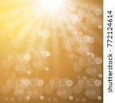 shining abstract golden... | Shutterstock .eps vector #772124614