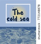 cover for your text. the sea... | Shutterstock .eps vector #772148878