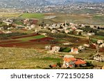 View On A Village In The Valle...