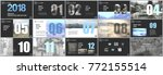 presentation templates.... | Shutterstock .eps vector #772155514