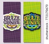 vector vertical banners for... | Shutterstock .eps vector #772170670