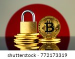 physical version of bitcoin ... | Shutterstock . vector #772173319