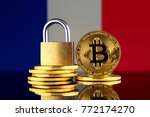 physical version of bitcoin ... | Shutterstock . vector #772174270