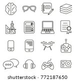 geek or nerd culture  ... | Shutterstock .eps vector #772187650