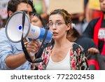 activist for milenio.org... | Shutterstock . vector #772202458