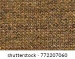 knitting wool texture... | Shutterstock . vector #772207060