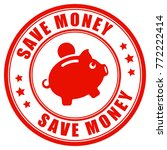 save money best price 100... | Shutterstock .eps vector #772222414