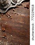 creative food turkish cuisine... | Shutterstock . vector #772229818