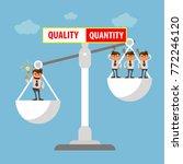 illustration of employment... | Shutterstock .eps vector #772246120