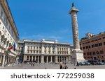 rome  italy   june 23  2017 ...   Shutterstock . vector #772259038