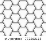 seamless pattern in the form of ... | Shutterstock .eps vector #772263118