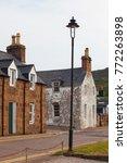 ullapool  scottish highlands ... | Shutterstock . vector #772263898