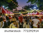 blurred picture of market night ... | Shutterstock . vector #772292914