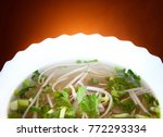 hot asian soup studio quality | Shutterstock . vector #772293334