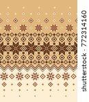 nordic pattern illustration. i... | Shutterstock .eps vector #772314160