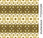 nordic pattern illustration. i... | Shutterstock .eps vector #772314184
