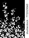 leaf illustration pattern. it... | Shutterstock .eps vector #772315060
