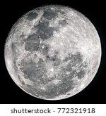 Super Moon Black Background - Fine Art prints
