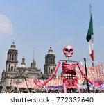 mexico city   november 02  2017 ... | Shutterstock . vector #772332640