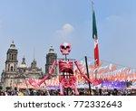 mexico city   november 02  2017 ... | Shutterstock . vector #772332643