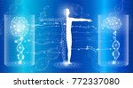 abstract background technology... | Shutterstock .eps vector #772337080