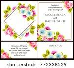 vintage delicate invitation...   Shutterstock .eps vector #772338529