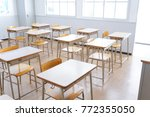 School Classroom Image