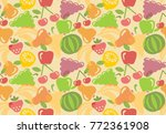 seamless background of stylized ...   Shutterstock .eps vector #772361908